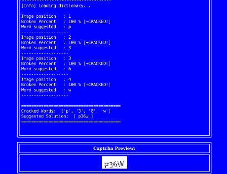 CIntruder: pentesting tool to bypass captchas